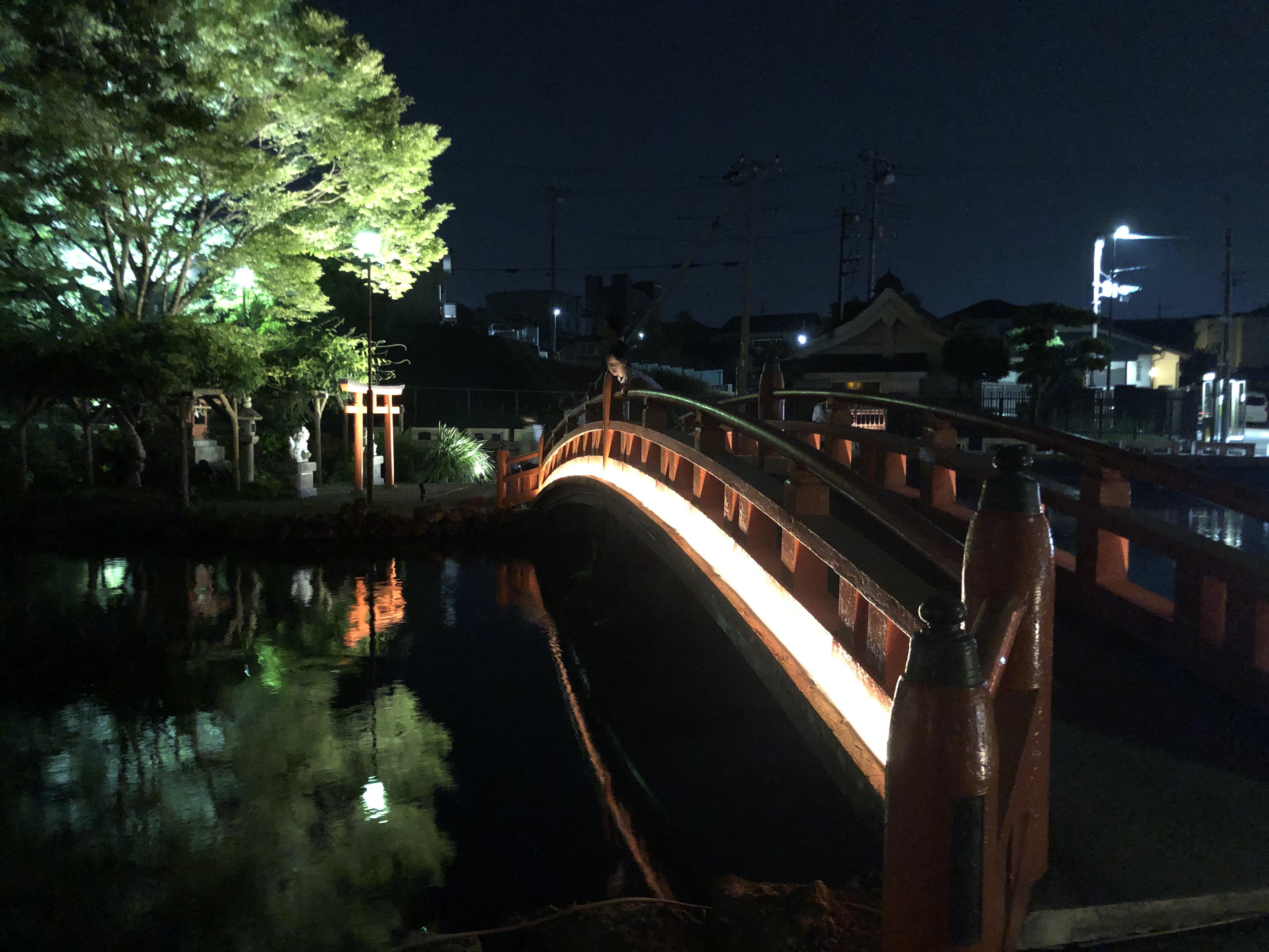 リンクタウン 浅間大社 湧玉池