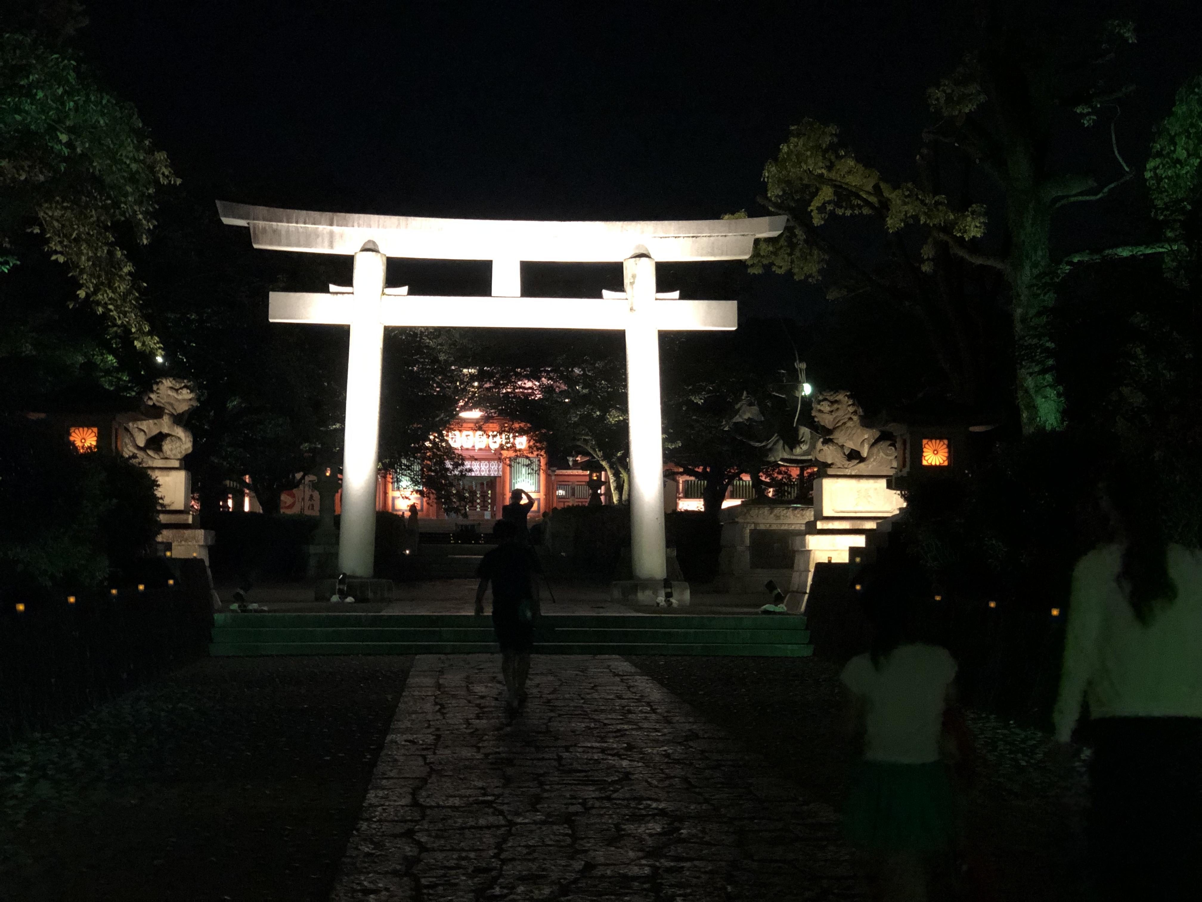 浅間大社 ライトアップ
